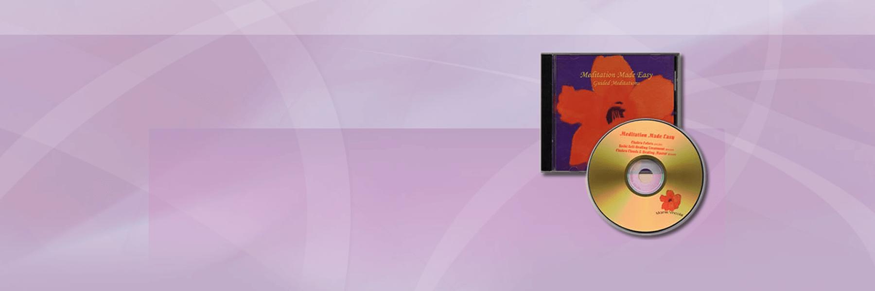 Meditation Made Easy MP3 & CD Slider